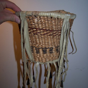 Native American Basket ? - Native American