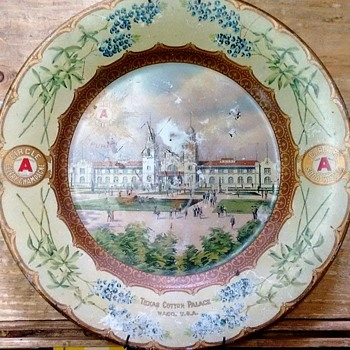 Cotton Palace plate, Waco,Texas