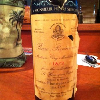 rare wine 1872 - Bottles