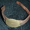 WW1 Canadian Expeditionary Forces ID wrist bracelet
