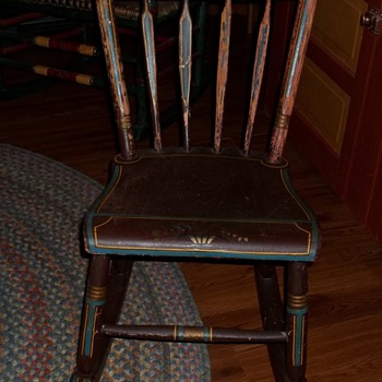Old child&#039;s rocking chair - Furniture