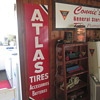 Atlas Tires metal self framed sign