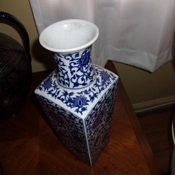Japanese Floral Vase  - Asian