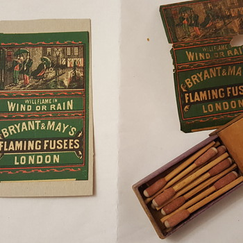 My box of flaming fusees