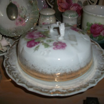 Butter / Cheese dish - China and Dinnerware
