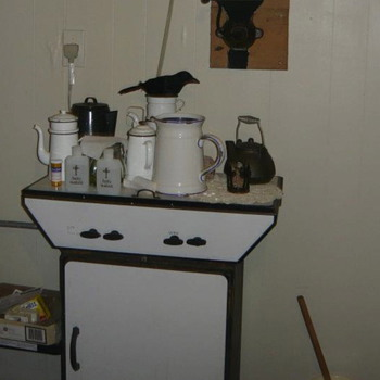 My sweet lil antique gas stove - Kitchen