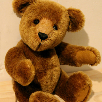 Teddy made by Louise Read