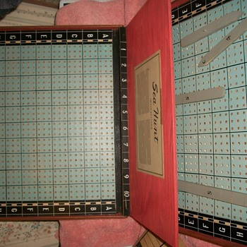 original prototype of the board game battleship with all the provinance 1059