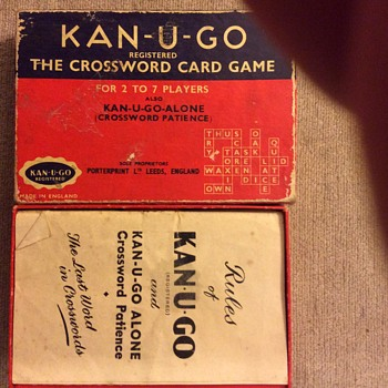 Can-u-go. The crossword card game