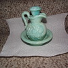 Light Blue Avon pitcher of some sort