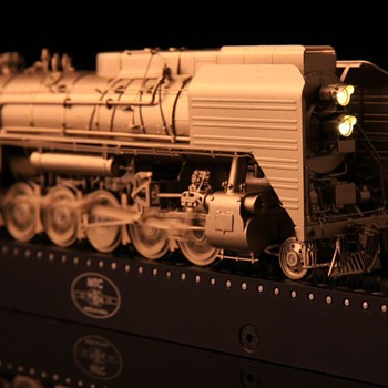 Chinese QJ Brass locomotive 1:87 ho scale. - Model Trains