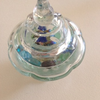 Glass Ornament Jar
