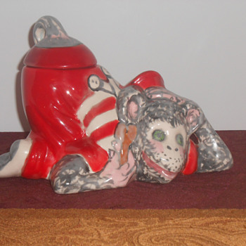 Grease Monkey Cookie Jar
