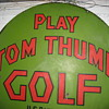 first miniature golf course sign.