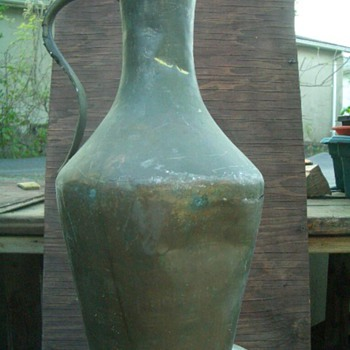 OLD  ITALIAN WATER  JUG - Bottles