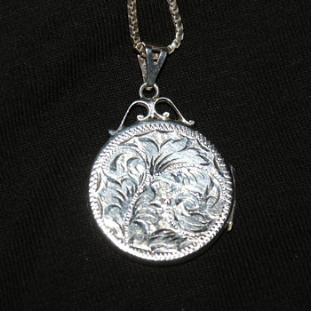 Vintage Sterling Locket