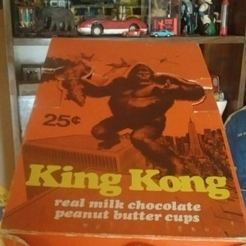 King Kong Candy Display Box  - Advertising