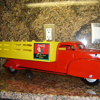  Marx Coca-Cola Truck project!