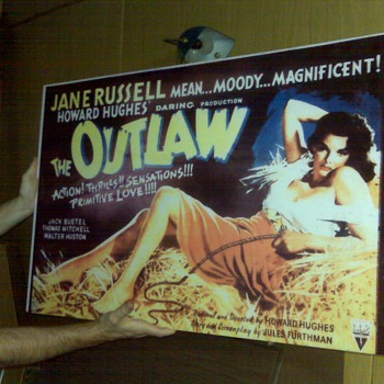 JANE RUSSELL VINTAGE POSTER - Posters and Prints