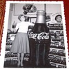 Orginial Photographs of Coke Displays