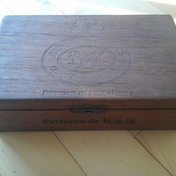 Benson& Hedges Cigar Box