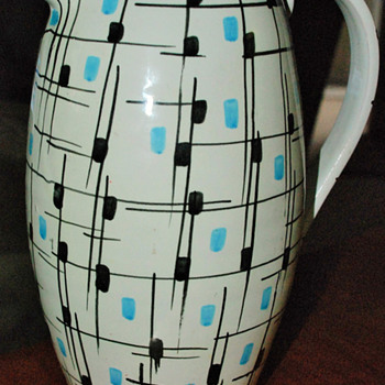 Italian Pitcher - Art Pottery