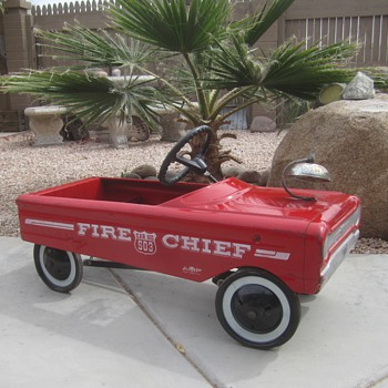 AMF Fire Chief - Model Cars