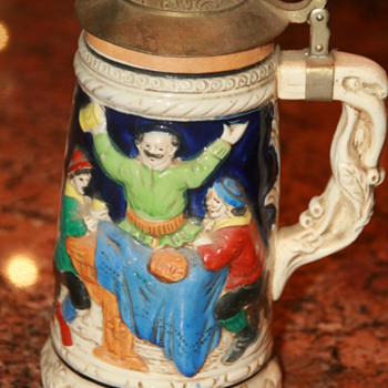 Antique beer stein - Breweriana