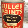 FULLER PAINTS DECORET ENAMEL 2887 APRICOT / PAMPHELET 1940&#039;s