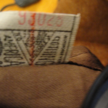 Labels from 1900 British Wool  Clothing