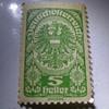 DeutschOsterreich 5 Heller Stamp