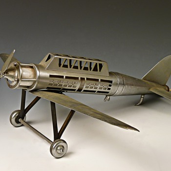 30's Aeroplane Lamp - Art Deco