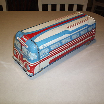 1950 Wolverine Express Bus - Gently Used - Model Cars