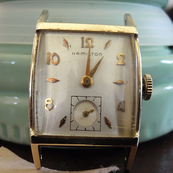 1956-1964 Hamilton 22 Jewel 770 10K 1st repair - Wristwatches