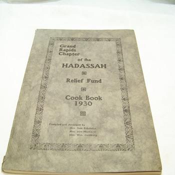 FOUND BETWEEN SHELVES  1930'S COOKBOOK