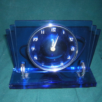 Waltham Art Deco Clock - Art Deco