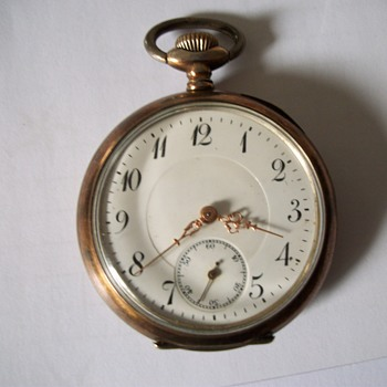 Antique German Pocket Watch