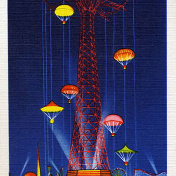 Worlds Fair Post Cards 1939