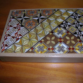 Japanese Puzzle Box - Magic Box - Asian