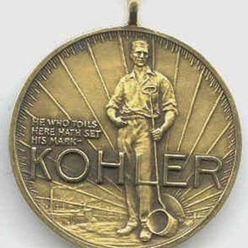 Kohler Co. 25 Years Service - Advertising