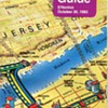 1983 Port Authority Trans Hudson (PATH) Map and Guide