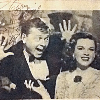 Autographed Mickey Rooney Still - Movies