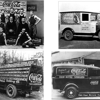 Early Coca-Cola Photographs