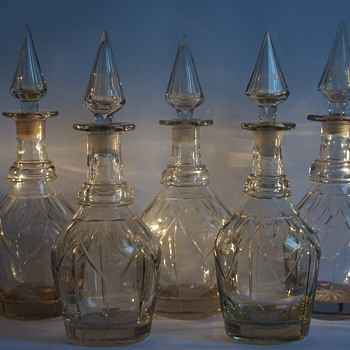 Bludgeon Decanters - Art Glass