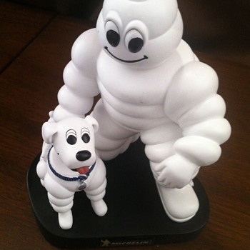 Michelin Man Bobble head.