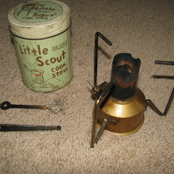 Vintage Stove - Tools and Hardware