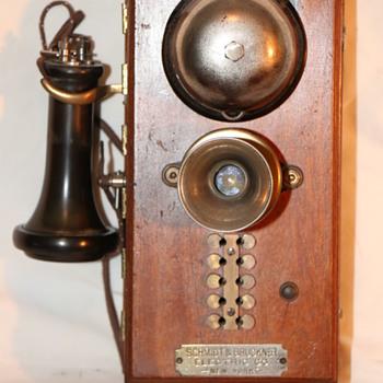 Schmidt and Bruckner Intercom - Telephones