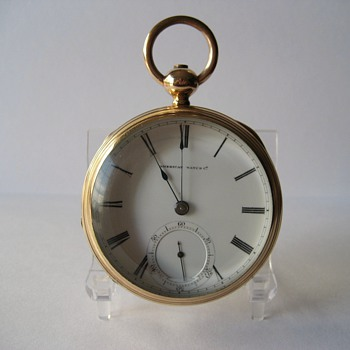 Scarce George W. Ladd Gold Filled Drum Case/Waltham Pocket Watch