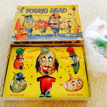 Vintage Mr. Potato Head Game