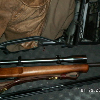 1947 Remington 513T MatchMaster Rifle w/ 1952 Unertl Scope 8X